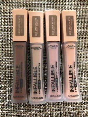 Loreal Infallible pro Matt Les Chocolats Duftend Flüssiger Lippenstift