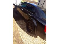 "Stunning Chrysler 300 Crd Diesel Black 22"" Alloys Bentley Grill Etc auto diesel automatic"