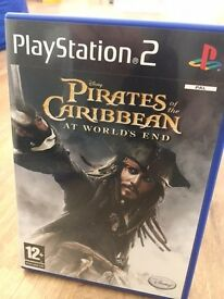 Sony PS2 Game - Pirates Of The Caribbean At Worlds End
