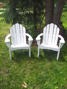 Hand made Adirondack and muskoka chairs