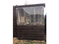 2 Wooden Aviaries for sale and extras included