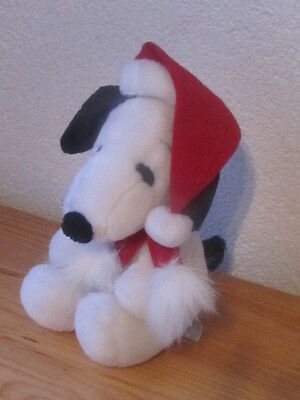 Snoopy Stofftier (Peanuts United Feature Snoopy  Nikolaus 25 cm Stofftier Kuscheltier Plüschtier)