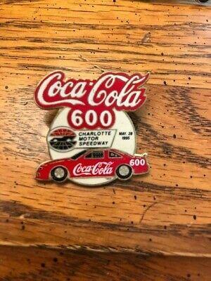 VINTAGE NASCAR WINSTON CUP SERIES Coca Cola 600 1995 hat pin