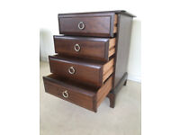 Stag Minstrel 4 drawer cabinet chest in excellent condition