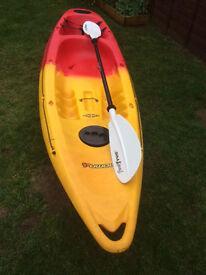 Feel Free Nomad Sit-on Kayak lightly used