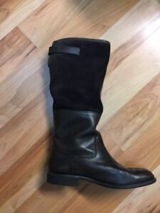 Women's Rockport Leather Boots Size 8 1/2