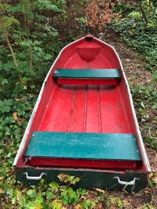 Fiberglass Rowboat for sale