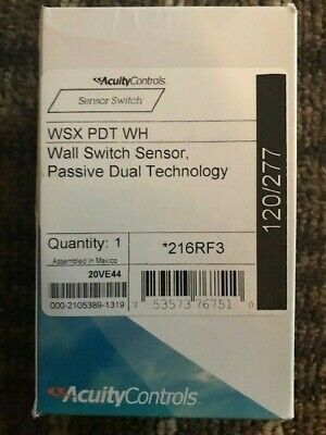 Acuity Controls Wsx Pdt Wh