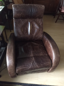 Leather Swivel Power Recliner Chairs