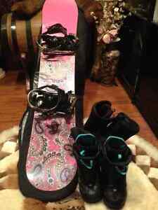 Complete Snowboard Package!