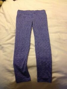 Purple work out pants size Medium