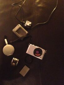 Olympus Pen Mini EPM1 body for parts incl flash unit and battery
