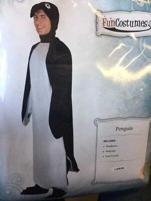Adult Penguin Bird Mary Mr Poppins Costume Size Small, Medium, Large, XL