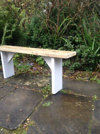 Solid Rustic Vintage Reclaimed Pine Plank BENCH