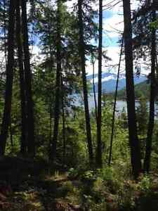 Private Lakeview property 25 min north of Nelson BC