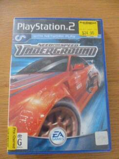 PS2 game Need for speed UNDERGROUND Leichhardt Leichhardt Area Preview