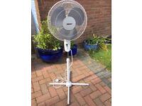 Tall Oscillating 3 speed Fan