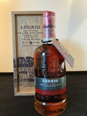 Ledaig 18 Jahre Batch 03 Limited Release 0,7L Single Malt Whisky Holzkiste NEU