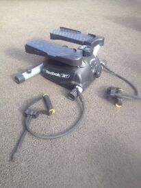 Reebok Stepper with stretch hand helds for arm exercises incl.