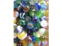 Collection of Victorian Glass Marbles