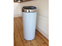 Brabantia Soft Touch Kitchen Bin- soft blue - 21 to 30 litres