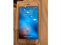 iPhone 6 unlocked gold 64gb screen cracked hence reduced price £150 collection from canary wharf