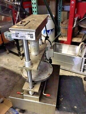 Comtec 2200 Bakery Restaurant Equipment Double Crust Forming Pastry Pie Press