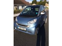 SMART CAR, low mileage, tax free, good condition,blue /silver colour.