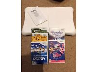 Wii Fit Board and 5 Games