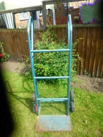 **FOR SALE** 6 Wheeled sack barrow. £25