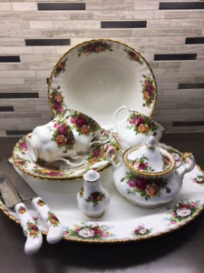 Royal Albert Old Country Rose for Sale $2500.00