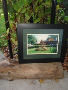 ~ FRAMED PICTURE OF CRYSTAL BEACH AMUSEMENT PARK ~ $69.99 ~