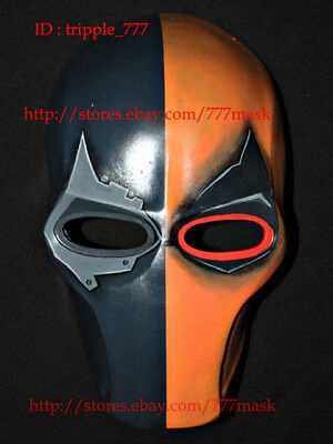 Airsoft Mask BB Gun Paintball Helmet Goggle Armor Gear Cosplay Deathstroke MA134