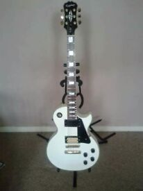 Epiphone Les Paul Custom (upgraded)