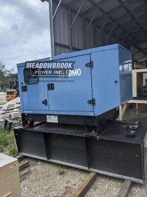 Sdmo 30 Kw Diesel Generator - Mitsubishi Engine - 527 Hours