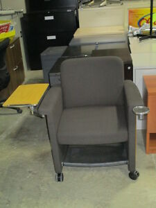 Teknion Belize-Lounge Chairs with Tablet and Cup Holder