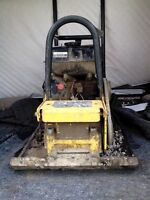 USED HONDA PLATE COMPACTOR
