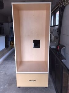 Kitchen Cabinet for double wall ovens