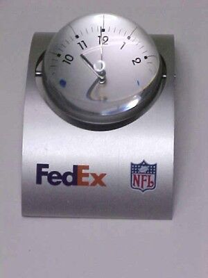 FedEx NFL logo Desk Clock & Picture - Nfl Novelties