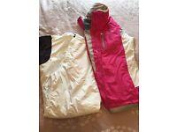 Ski coat and trousers