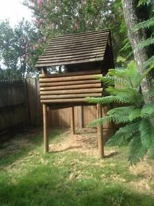 Large wooden cubby house Denistone Ryde Area Preview