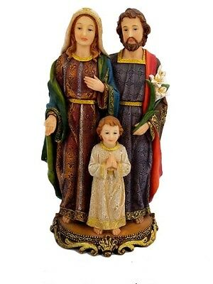 "12"" Holy Family Statue La Sagrada Familia Virgin Mary St Joseph Child Jesus"