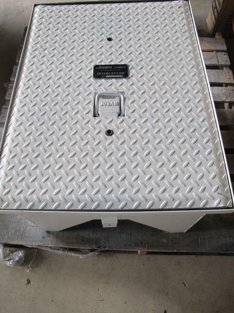 NEW JOSAM COMPANY 60135H STEEL GREASE INTERCEPTOR TRAP FRAME COVER ASSEMBLY