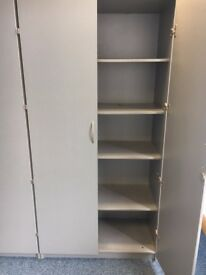 office furniture 2 meter tall cupboards and 1.2 meter tall cupboards