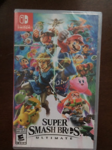 Super Smash Bros for Nintendo Switch - still in wrapper