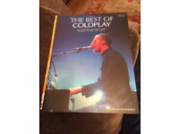 4 Piano music books - best of Coldplay, One Direction, 18 Today's Hits & Very Easy Piano Tunes