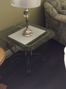 Two End Tables & Entrance Table