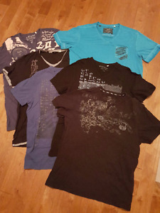 MENS GUESS T-SHIRTS SIZE LRG