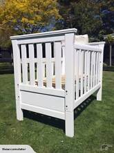 Classic white cot: Grotime Windsor 4 in 1 Wilston Brisbane North West Preview