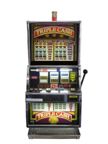 IGT Triple Cash Slot Machine For Sale